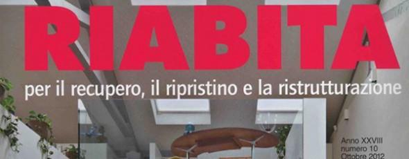 Pubblicazione su Riabita – ottobre 2012