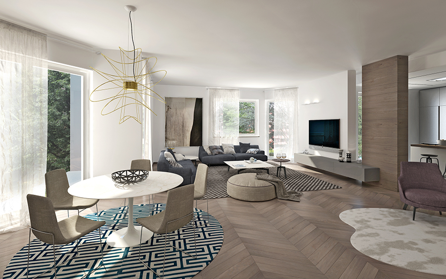 Case ristrutturate a lugano da architetti motta sironi for Architetti d interni famosi